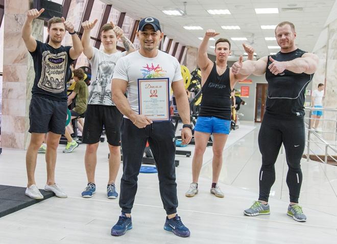 Равис Аминов фитнес-клуб ALEX FITNESS