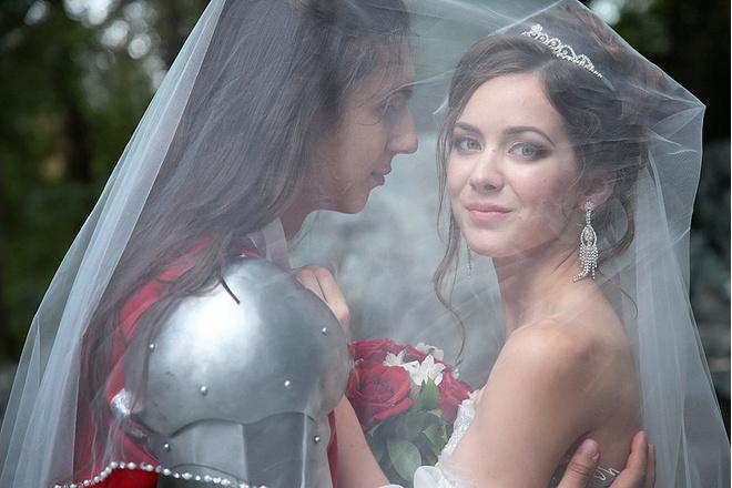 Евгения Скачкова, свадьба, фото