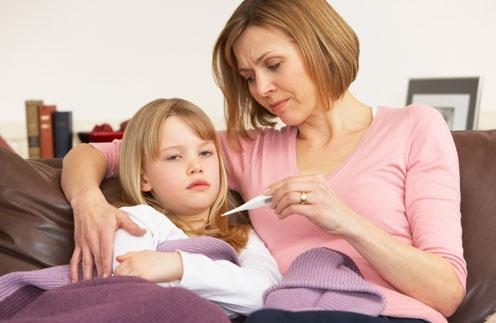 Благодаря профилактики простудных заболеваний дети болеют гораздо реже