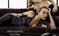 Марго Робби стала лицом нового аромата deep euphoria Calvin Klein