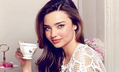 Как мило: Миранда Керр в рекламе чайного сервиза