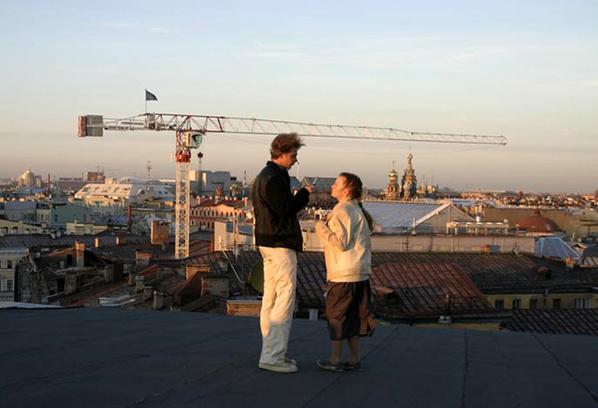 Прогулка по крышам СПб