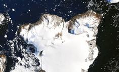 карта выглядела антарктида безо льда