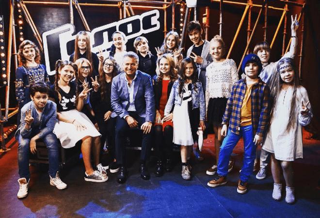 Команда Леонида Агутина на третьем сезоне шоу «Голос.Дети»