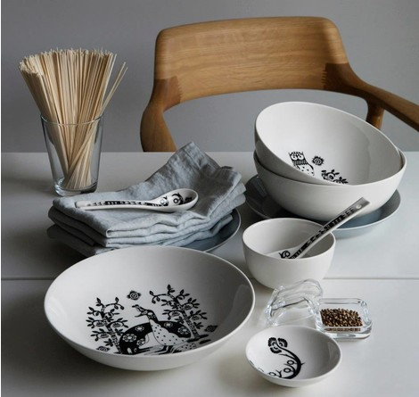 iittala, посуда, дизайн, декор стола, Taika collection