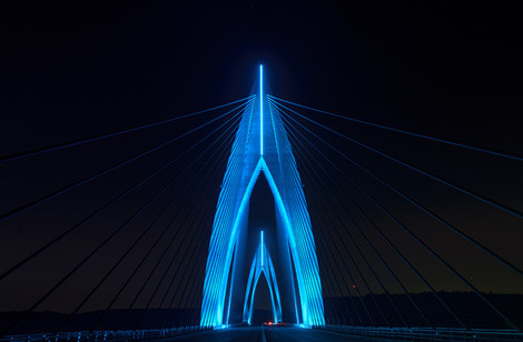 Компания Philips Lighting осветила «Инженерное чудо Африки» | галерея [1] фото [1]