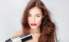 Укладка феном без вреда для волос