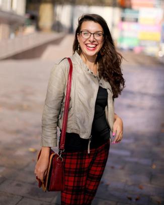 Надежда Сургина, журналист, автор блога об уличной моде Street46