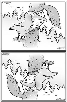 Карикатура Валентина Дубинина