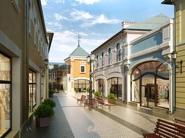 Первый аутлет-центр откроет свои двери уже в июле 2012 года