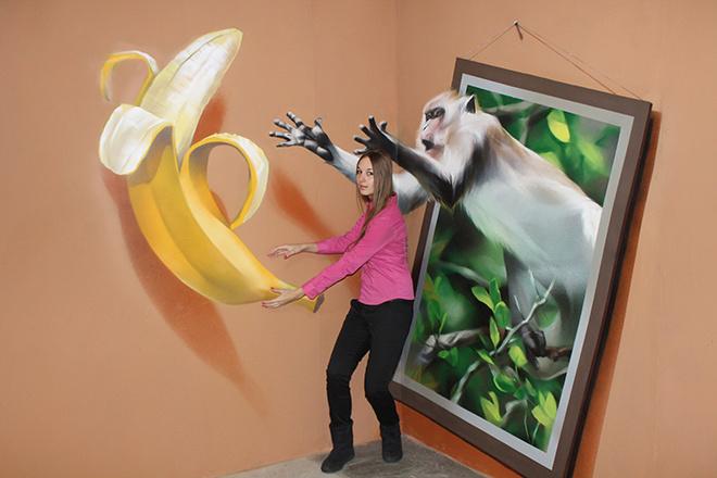 Мартышка и банан