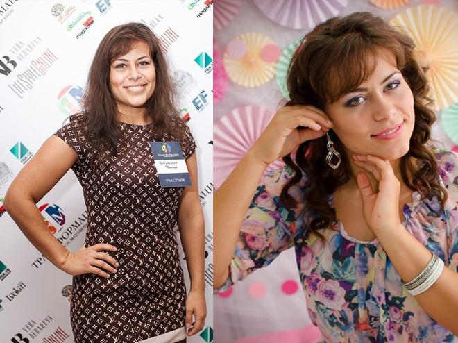 Татьяна Цибульская до и после преображения