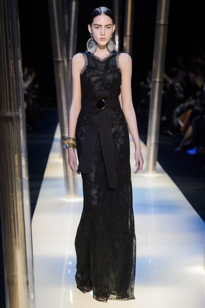 На Неделе высокой моды в Париже прошел юбилейный показ Giorgio Armani Prive | галерея [2] фото [21]