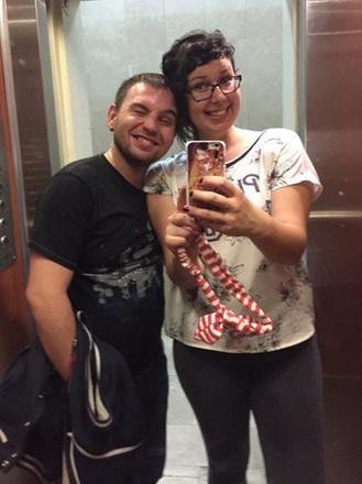 Тая Ривкина и Валерий Блюс, фото