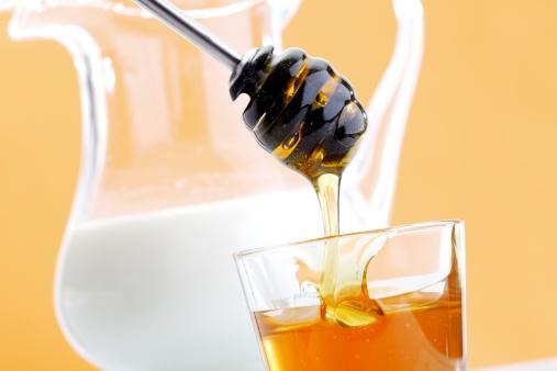 польза молока с медом на ночь