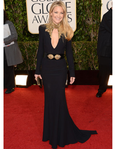 "Кейт Хадсон (Kate Hudson) на ""Золотом глобусе""-2013"