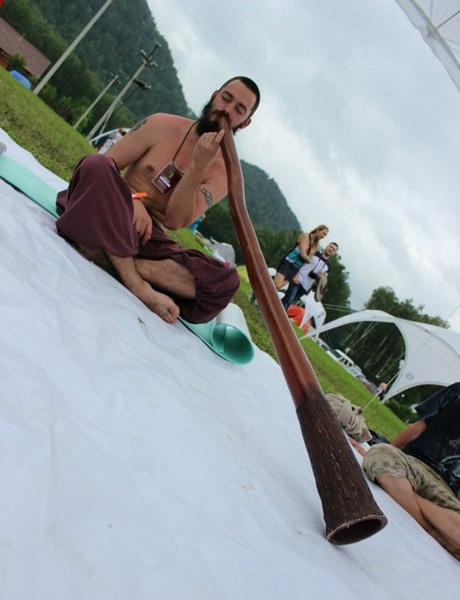 Диджериду - инструмент аборигенов Австралии
