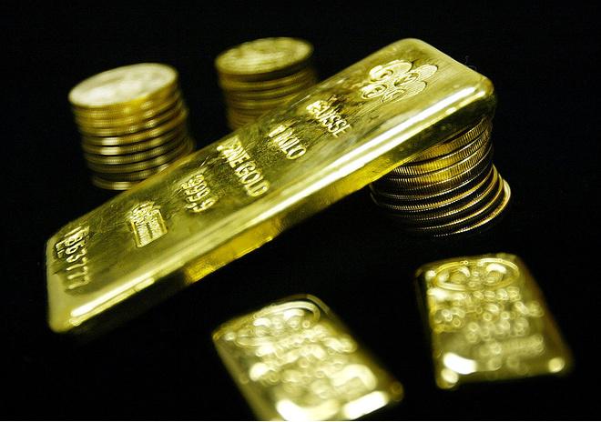 золото темнеет