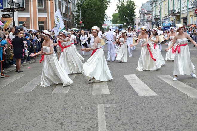 Иркутск. День города