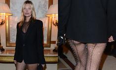 Модный провал: Кейт Мосс обнажилась на модной презентации