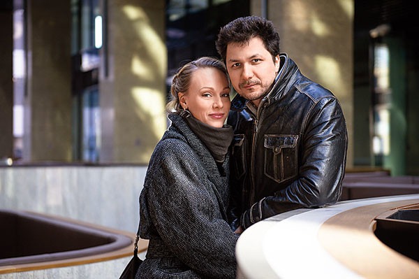 Ольга Ломоносова и Павел Сафонов