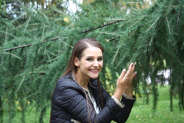 Глафира Тарханова, прогулка по Екатеринбургу
