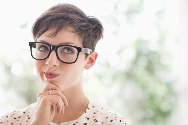 Смотреть женщены с короткой спортивной стрижкой секс