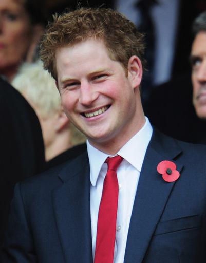Принц Гарри, Великобритания