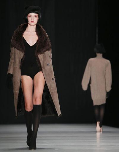 Коллекция Tegin осень-зима 2013/14 на Mercedes-Benz Fashion Week Russia