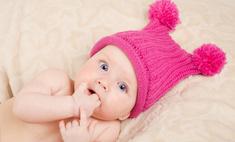 Вяжем спицами: шапка для ребенка
