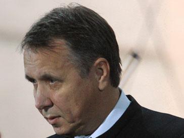 Михаил Плетнев на выступлении с оркестром