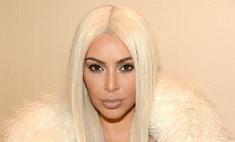 Ким Кардашьян вновь сфотографировалась голой