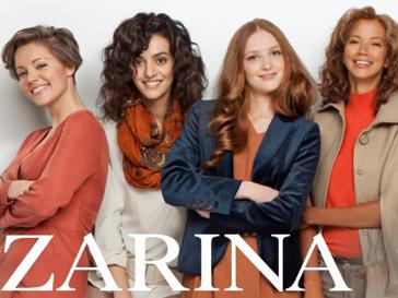 """Рекламная кампания """"Zarina - это мы!"""", сезон осень-зима 2012/13"""