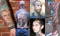 Топ-13 мужских татуировок Тату-феста: герб, князь и покемон