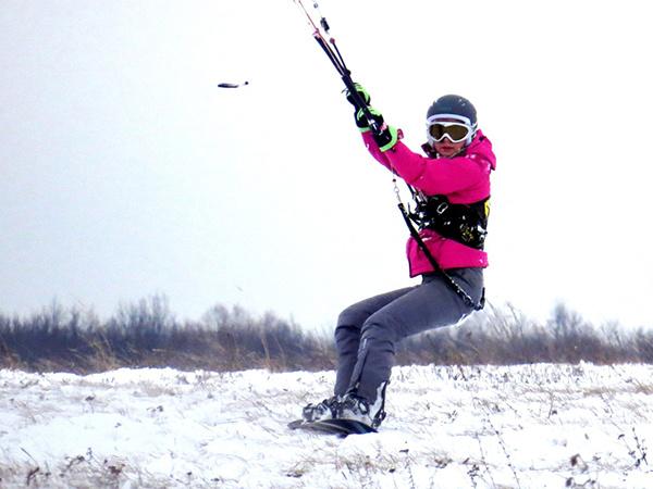 Ленинские горки: Ульяновск встал на сноуборд и красавицы-сноубордистки фото