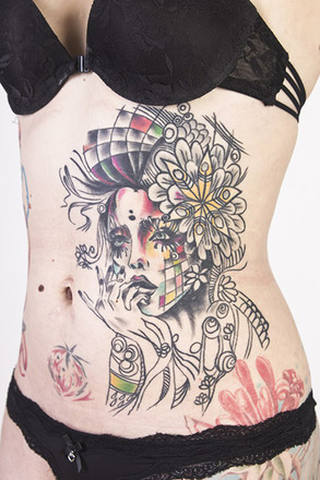 Мадинка Шмидт, Ural Tattoo Queen 2015