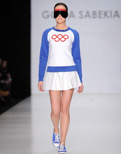 Показ коллекции Гоги Сабекия осень-зима 2013/14 на Mercedes-Benz Fashion Week Russia