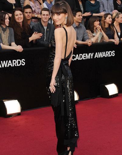 "Роуз Бирн (Rose Byrne) на ""Оскаре-2012"""