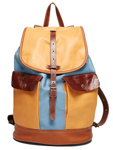 Кожаный рюкзак Asya Malbershtein