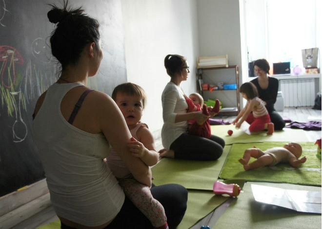 Йога с малышом