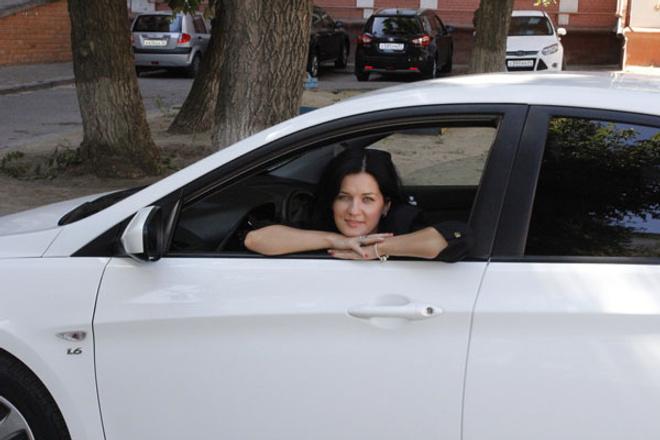 Девушки за рулем фото, автоледи