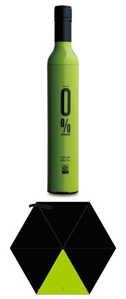 Зонт-бутылка Isabrella - лайм, дизайн: Ciff Luk