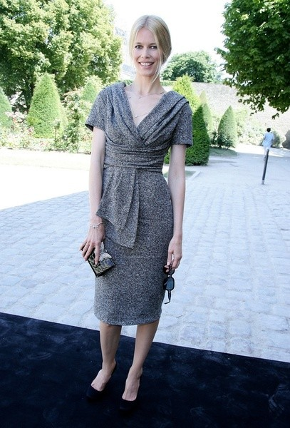 Клаудиа Шиффер (Claudia Schiffer) на показе Christian Dior