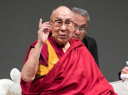 Онлайн-лекция Далай-ламы XIV «Этика: воспитание ума и сердца»