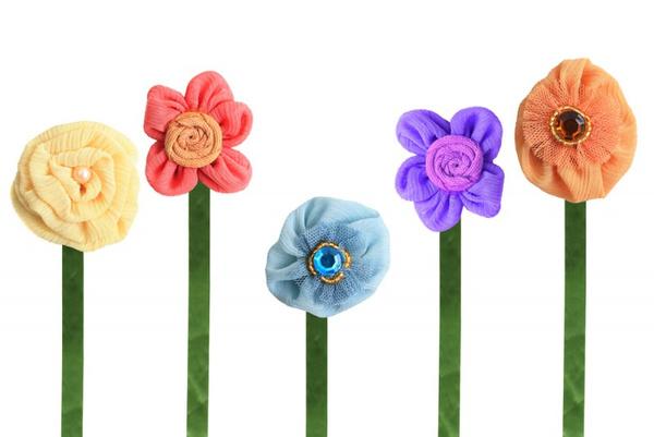Сделать цветы