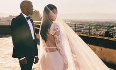 Самые популярные свадебные фото звезд в «Инстаграме»