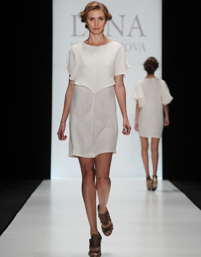 Mercedes-Benz Fashion Week: Lena Karnauhova, весна-лето 2012
