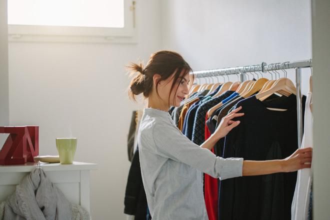 Скидки на одежду, зимняя распродажа