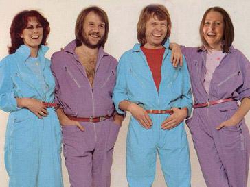 Группа ABBA в полном составе