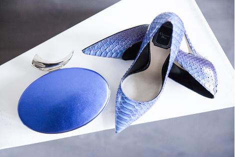 Клатч, Giuseppe Zanotti Design, 58 900 руб.; туфли, Dior, цена по запросу